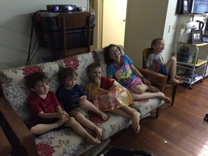 Weekend fun with movies and Wii
