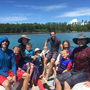 Fun on the water with uncles