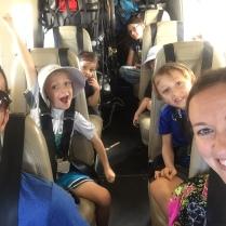 The kids love flying in the Kodiak!