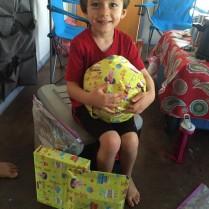 Zeke's 5th birthday