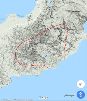 Rough Google Map of Language Boundary - Compressed